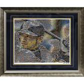 Ichiro Suzuki Seattle Mariners Mosaic Framed 16x20 Photo (Ltd of 1000)