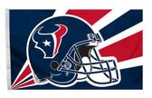 Houston Texans 3'x5' Helmet Design Flag