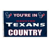 Houston Texans 3 Ft. X 5 Ft. Flag W/Grommets