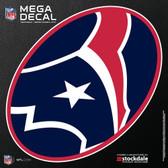 """Houston Texans 12""""x12"""" Mega Decal"""