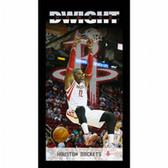 Houston Rockets Dwight Howard Player Profile Wall Art 9.5x19 Framed Photo