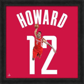 Houston Rockets Dwight Howard 20X20 Framed Uniframe Jersey Photo