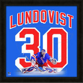 Henrik Lundqvist New York Rangers 20x20 Framed Uniframe Jersey Photo