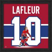 Guy Lafleur Montreal Canadians 20x20 Framed Uniframe Jersey Photo