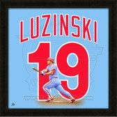 Greg Luzinski Philadelphia Phillies 20x20 Framed Uniframe Jersey Photo