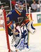 Grant Fuhr St. Louis Blues Signed 8x10 Photo