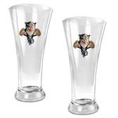 Florida Panthers Oval Pilsner Glass Set