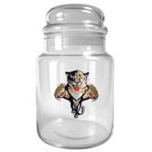 Florida Panthers 31oz Glass Candy Jar