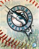 Florida Marlins Team Logo 8x10 Photo