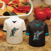 Florida Marlins Gameday Jersey Salt and Pepper Shakers