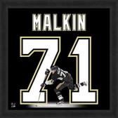 Evgeni Malkin Pittsburgh Penguins 20x20 Framed Uniframe Jersey Photo