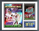 Eli Manning New York Giants Super Bowl MVP Milestones & Memories Framed Photo