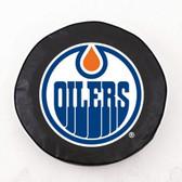 Edmonton Oilers Black Tire Cover, Small