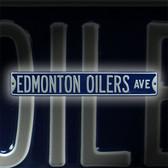 Edmonton Oilers Avenue Sign