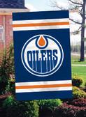 Edmonton Oilers 2 Sided Banner Flag