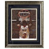 Dwyane Wade Framed 16x20 Mosaic
