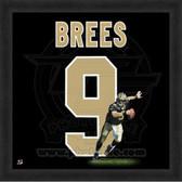 Drew Brees New Orleans Saints 20x20 Framed Uniframe Jersey Photo