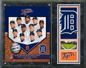 Detroit Tigers 2012 Team Plaque
