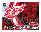 Detroit Red Wings Printed Canvas