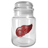 Detroit Red Wings 31oz Glass Candy Jar