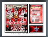 Detroit Red Wings 2007-08 Stanley Cup Champions Milestones & Memories Framed Photo