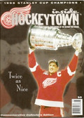 Detroit Red Wings 1998 Stanley Cup Champions inside Hockey Town Magazine