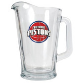 Detroit Pistons 60oz Glass Pitcher