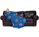 "Detroit Pistons 48""x71"" Comfy Throw Blanket"
