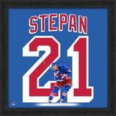 Derek Stepan New York Rangers 20x20 Framed Uniframe Jersey Photo