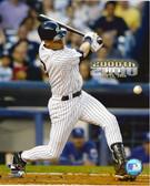 Derek Jeter New York Yankees 2000th Hit 8x10 Photo