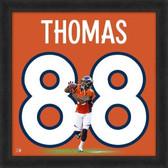 Demaryius Thomas Denver Broncos 20x20 Framed Uniframe Jersey Photo