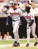 David Justice Kenny Lofton Cleveland Indians 8x10 Photo