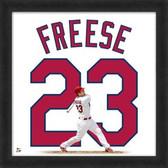 David Freese St. Louis Cardinals 20x20 Framed Uniframe Jersey Photo