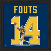 Dan Fouts San Diego Chargers 20x20 Framed Uniframe Jersey Photo