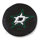 Dallas Stars Black Tire Cover, Large