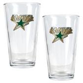 Dallas Stars 2pc Pint Ale Glass Set