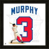 Dale Murphy Atlanta Braves 20x20 Framed Uniframe Jersey Photo