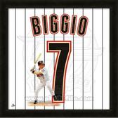 Craig Biggio Houston Astros 20x20 Framed Uniframe Jersey Photo