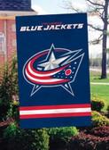Columbus Blue 2 Sided Banner Flag