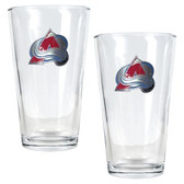 Colorado Avalanche 2pc Pint Ale Glass Set