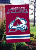 Colorado Avalanche 2 Sided Banner Flag