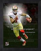 Colin Kaepernick 49ers 8x10 Framed ProQuote Photo