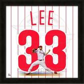 Cliff Lee Philadelphia Philles 20x20 Framed Uniframe Jersey Photo