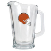 Cleveland Browns 60oz Glass Pitcher - Primary Logo