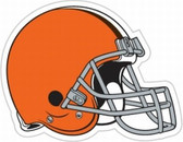 "Cleveland Browns 12"" Helmet Car Magnet"