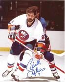 Clark Gillies New York Islanders Signed 8x10 Photo