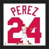 Cincinnati Reds Tony Perez 20x20 Framed Uniframe Jersey Photo