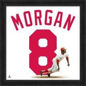 Cincinnati Reds Joe Morgan 20x20 Framed Uniframe Jersey Photo