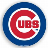 """Chicago Cubs 12"""" Car Magnet"""