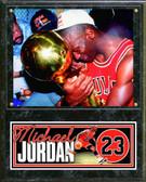 "Chicago Bulls Michael Jordan 12""x15"" Plaque # 4"
